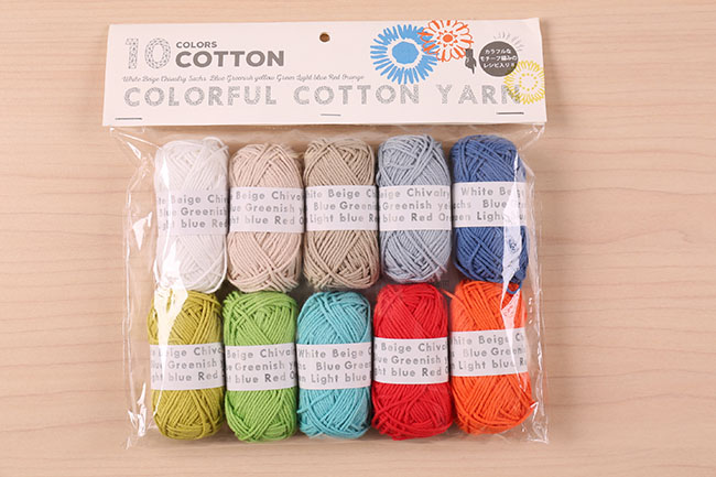 COLORFUL COTTON YARN[f9colorfulcotton]